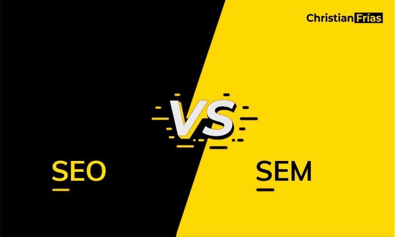 Posicionamiento en google SEO vs SEM